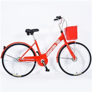 High Carbon Steel Rental Anti Theft City Public Bike