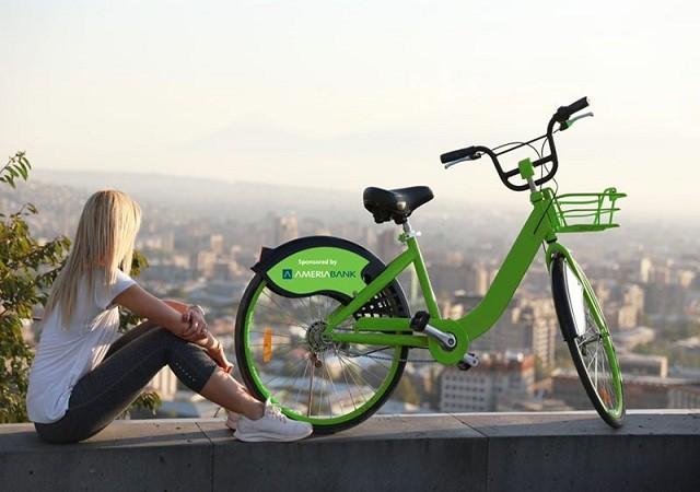 Armenisches öffentliches Fahrrad