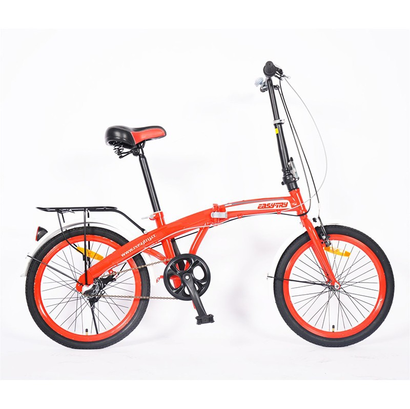 Lightweight Steel Air Filled Tires Folding Bike