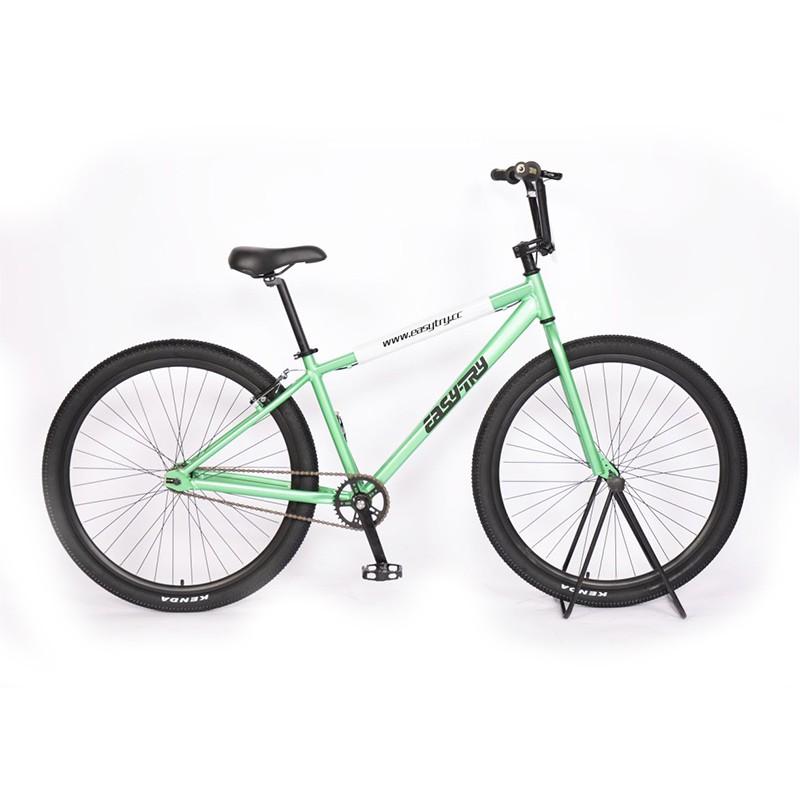 Bicicleta de 29 pulgadas con marco de aleación de aluminio de una sola velocidad Bmx