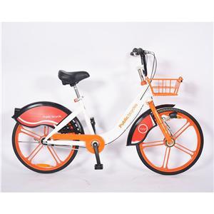Bicicleta pública con llanta de aleación personalizada de 24 pulgadas