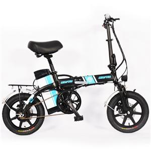 14 Inch Mini Disc Brakes Folding Electric Bike