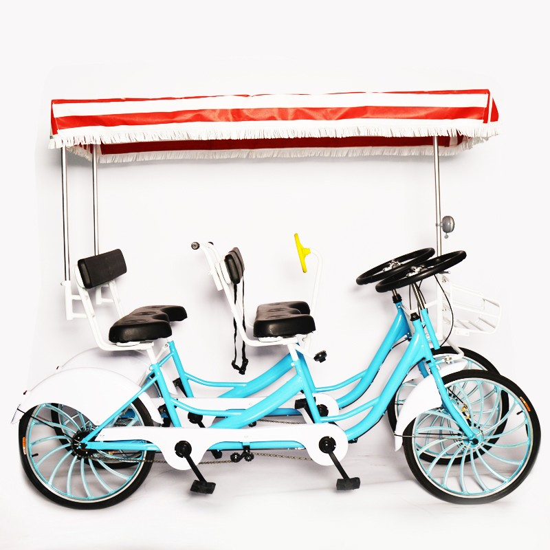 24 Inch Expanding Brake Travel Double Row City Bike