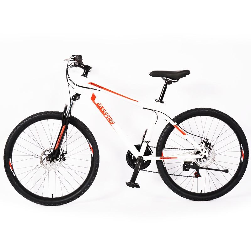 Bicicleta de montaña de 12 velocidades con freno de acero