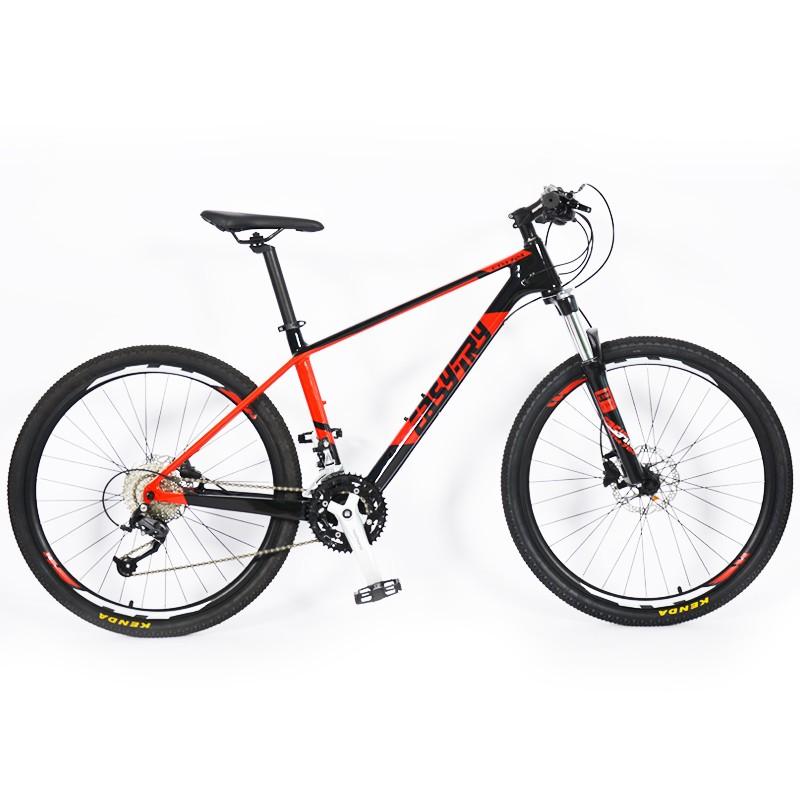 Bicicleta de montaña de 29 pulgadas y 30 velocidades con horquilla de carbono