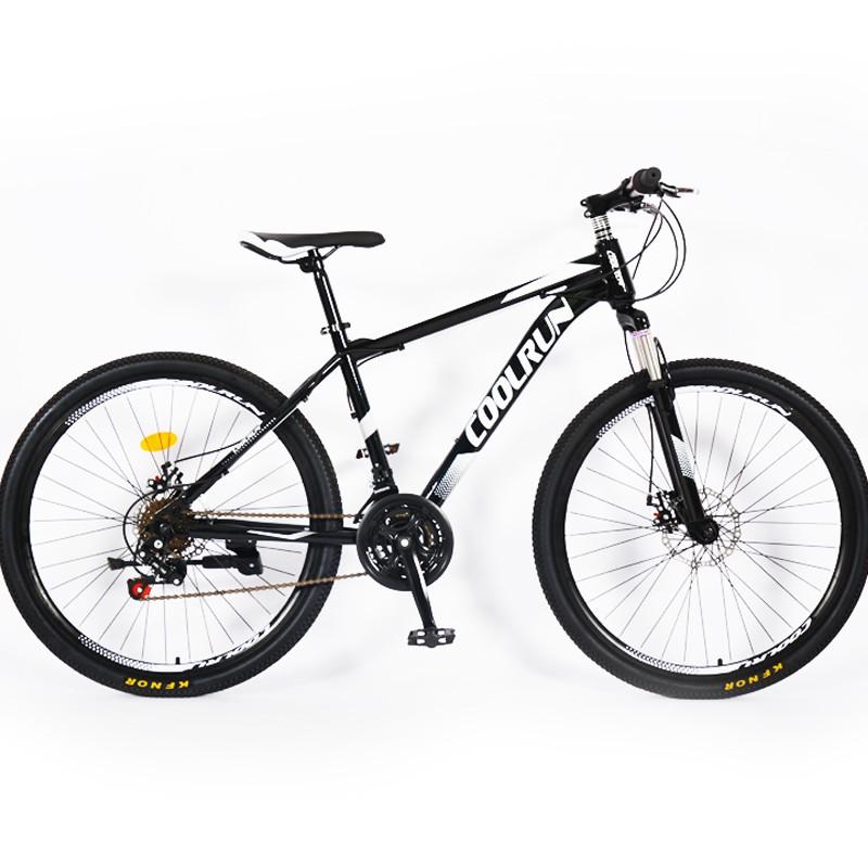 Frâne cu disc 26 inch Cadru din oțel 21 Viteză clasică Culoare mountain bike