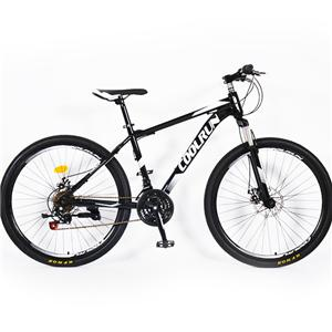 26 Inch Disc Brakes Steel Frame 21 Speed Classical Color Mountain Bike