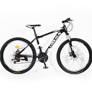 26-Zoll-Scheibenbremsen Stahlrahmen 21-Gang-Mountainbike in klassischer Farbe