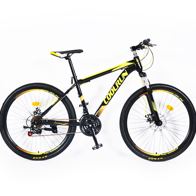 Frâne cu disc de 27,5 inchi Cadru din aliaj de aluminiu 24 de viteze personalizat pentru bicicletă de munte