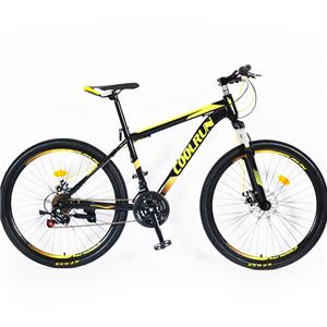 27.5 Inch Disc Brakes Aluminum Alloy Frame 24 Speed Customized Color Mountain Bicycle