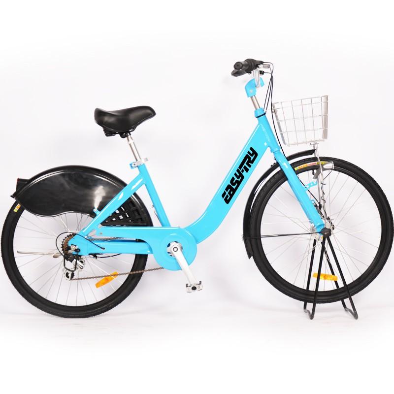 Bicicleta de alquiler con marco de aleación de aluminio Shimano Roller Brake