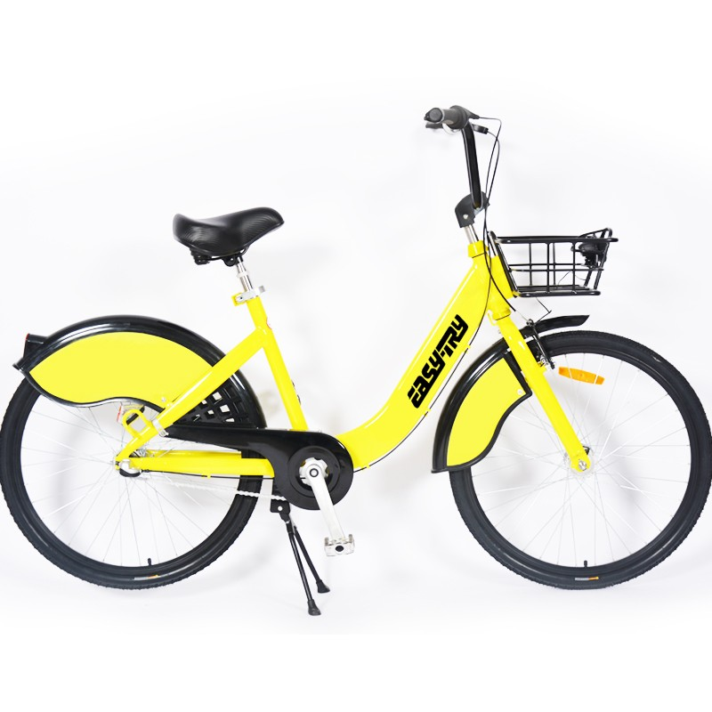 Ofo Yellow Anti Theft Design Sharing Bicycle