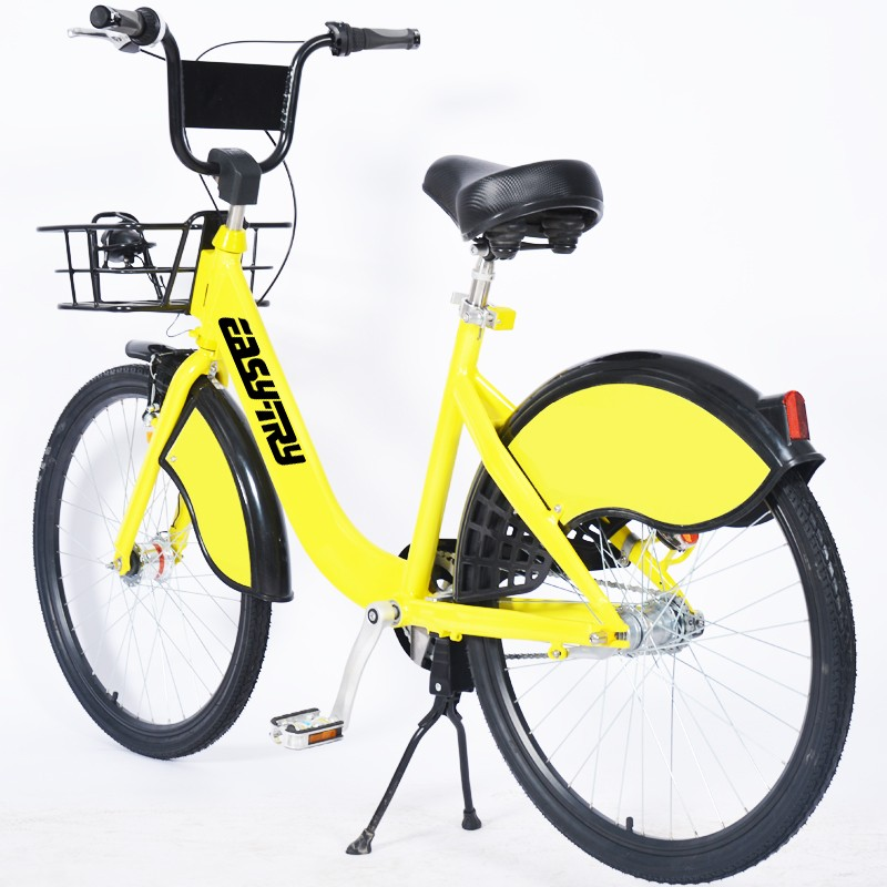 Ofo Yellow Anti Theft Design Sharing Bicycle Manufacturers, Ofo Yellow Anti Theft Design Sharing Bicycle Factory, Supply Ofo Yellow Anti Theft Design Sharing Bicycle