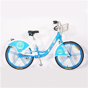 Integrated Wheel Sharing Bicycle Without Chain Shaft Driven Bike