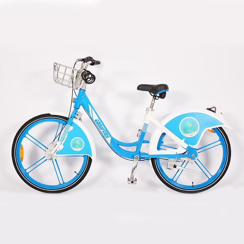 Vélo de partage de roue intégré sans vélo entraîné par arbre à chaîne