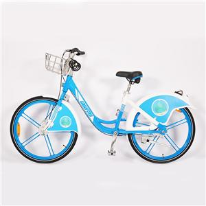 Integriertes Rad-Sharing-Fahrrad ohne Kettenwellenrad