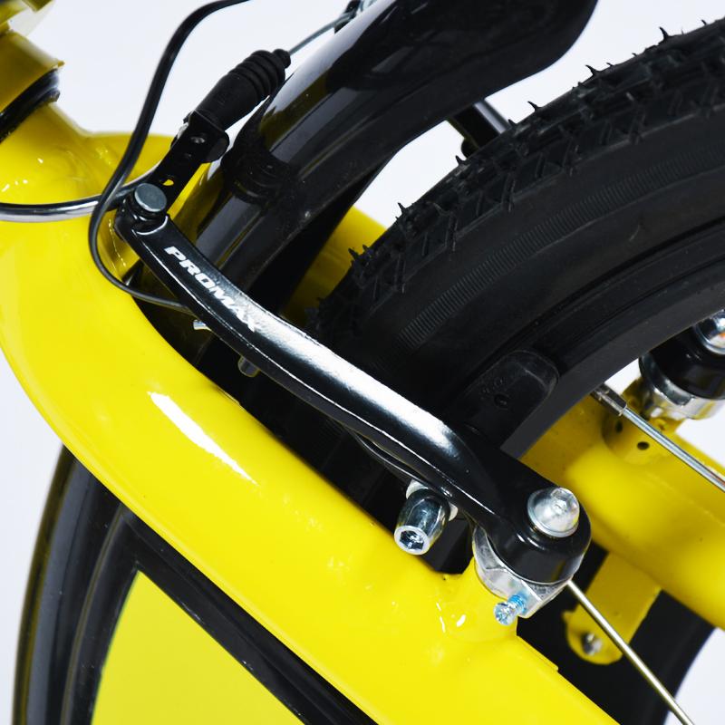 Yellow sharing bike