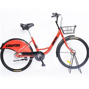 Single Speed Steel Frame Anti-theft Sharing Bike