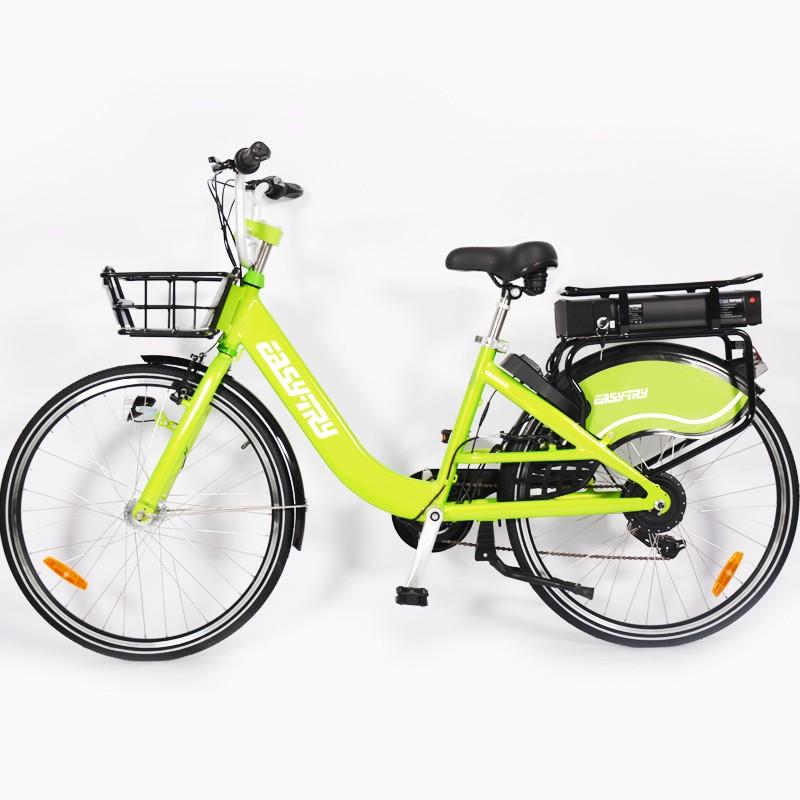 Vélo électrique à 7 vitesses V 350W 36V 10Ah avec partage de vélo