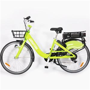 7 Geschwindigkeit V Bremsen 350W 36V 10Ah, die elektrisches Fahrrad teilen