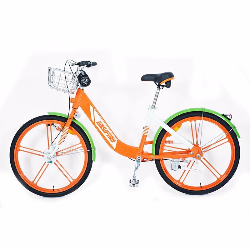 Bicicleta de ciudad de diseño de OEM de marco de aluminio de 26 pulgadas