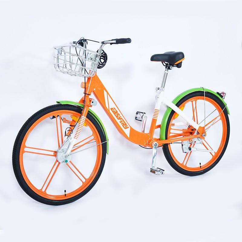 Comprar bicicleta pública con freno de rodillo, bicicleta pública con transmisión por eje de China, bicicleta pública con luz solar Marcas