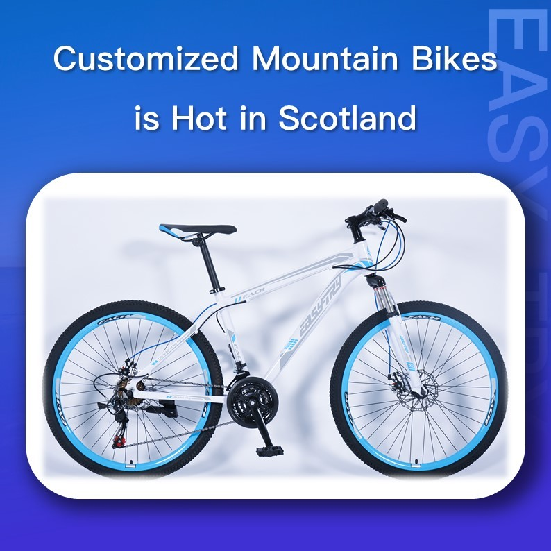 Customized Mountain Bikes is Hot in Scotland