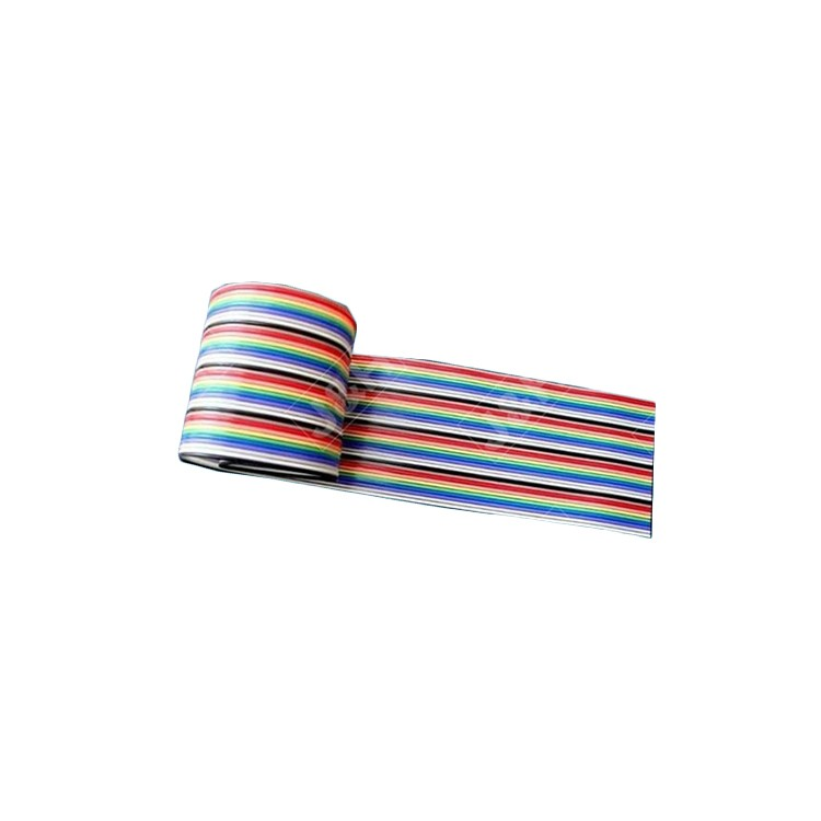 Flat Ribbon Cable Wire Rainbow Cable UL 2468