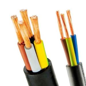 Cable Copper Conductor PVC Flexible Power Cable