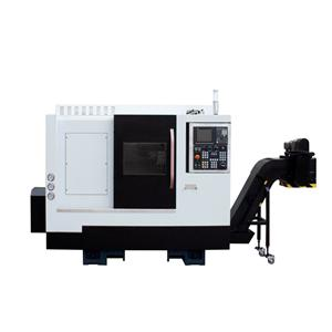 ML-280 CNC Lathe With Turret And Hydraulic Tail Stock