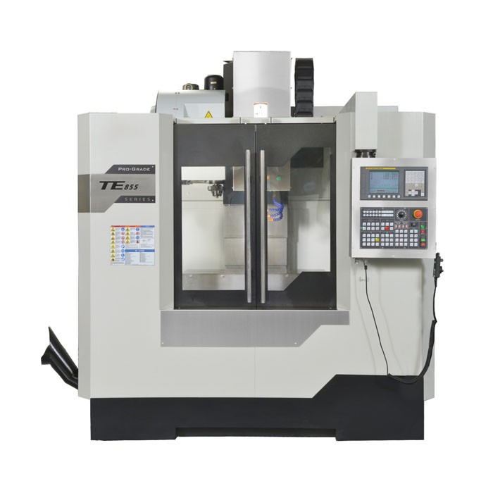 TE-855D Box Way CNC centro de Máquina Vertical