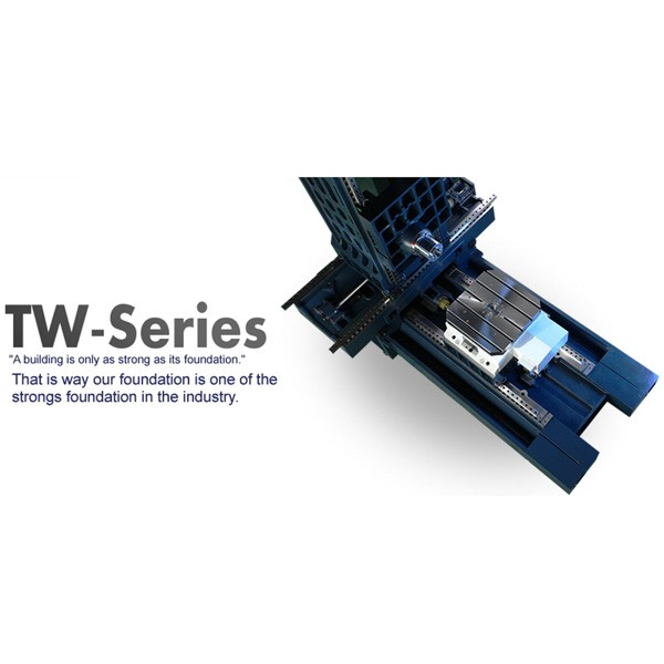TW-800 APC Horizontal Machine With Hydraulic Pallet Changer