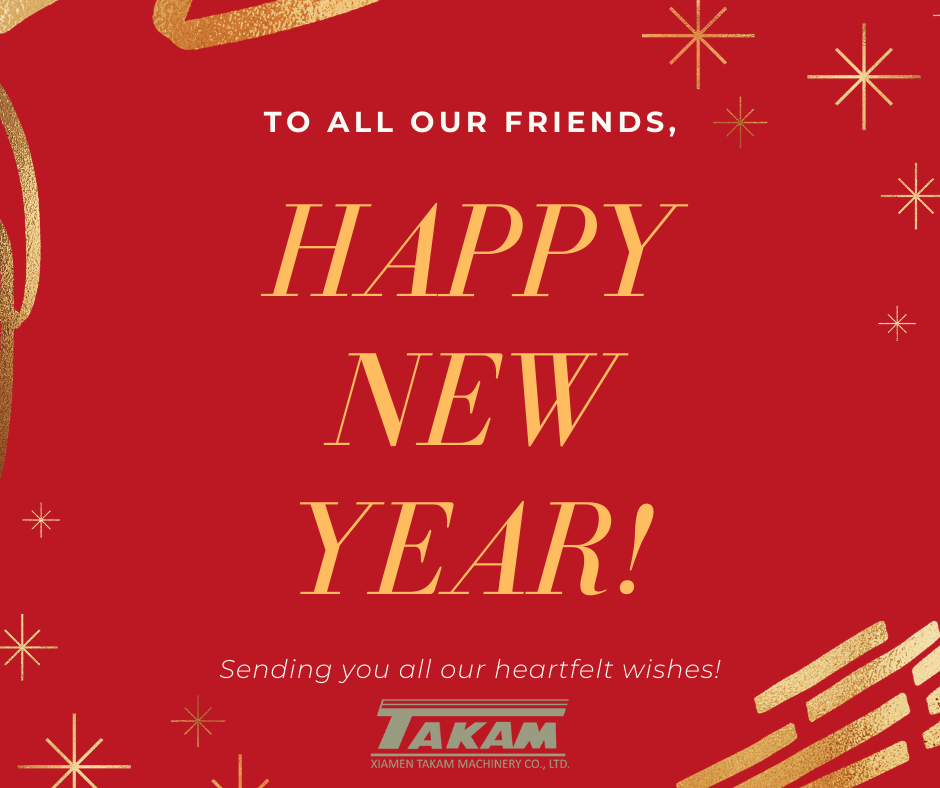 HAPPY NEW YEAR! -- TAKAM TEAM
