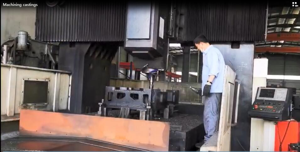 Take a close look at Takam: Making castings by CNC machining center