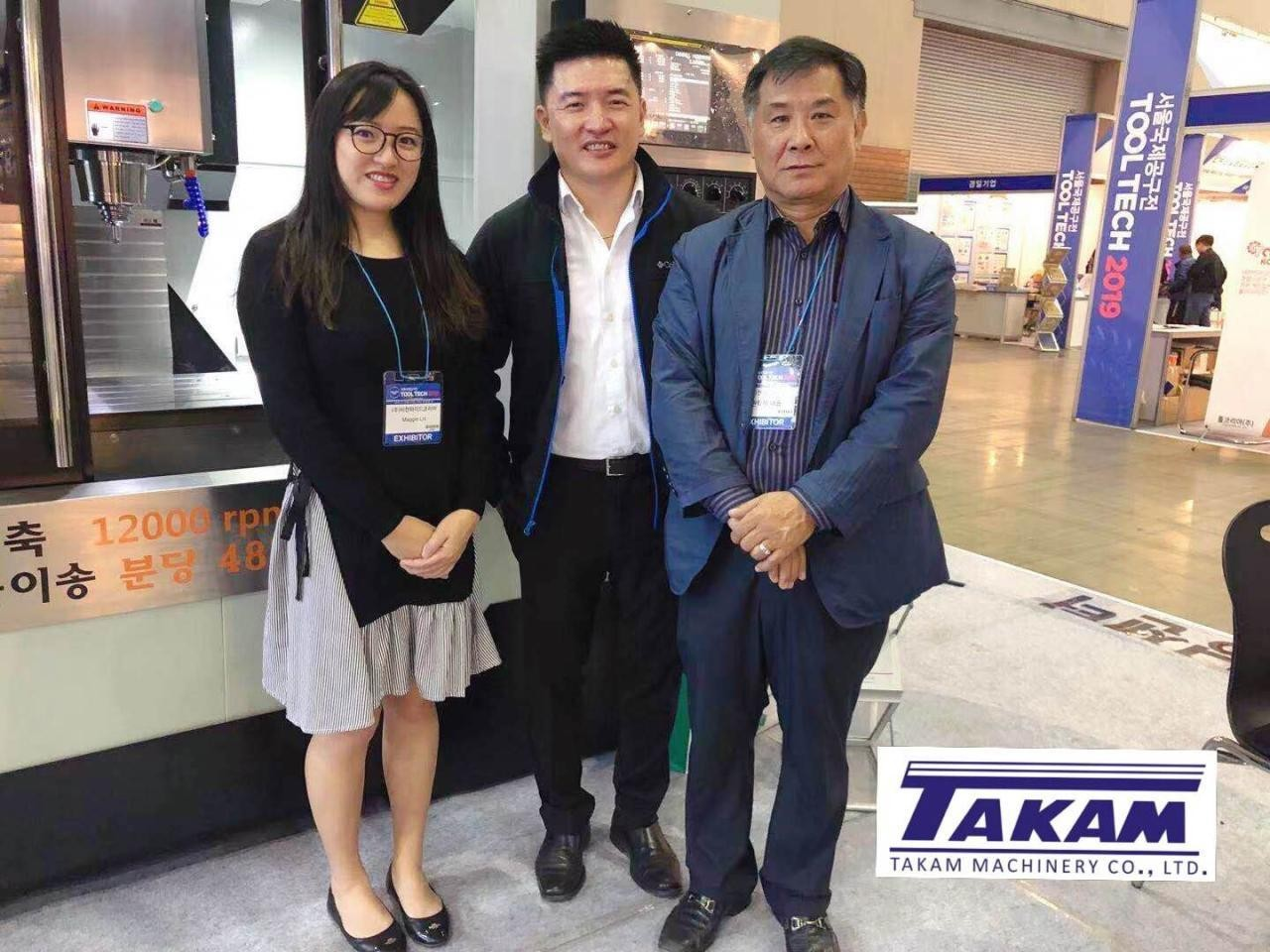 South Korea dealer with Takam in 2019 Tool Tech