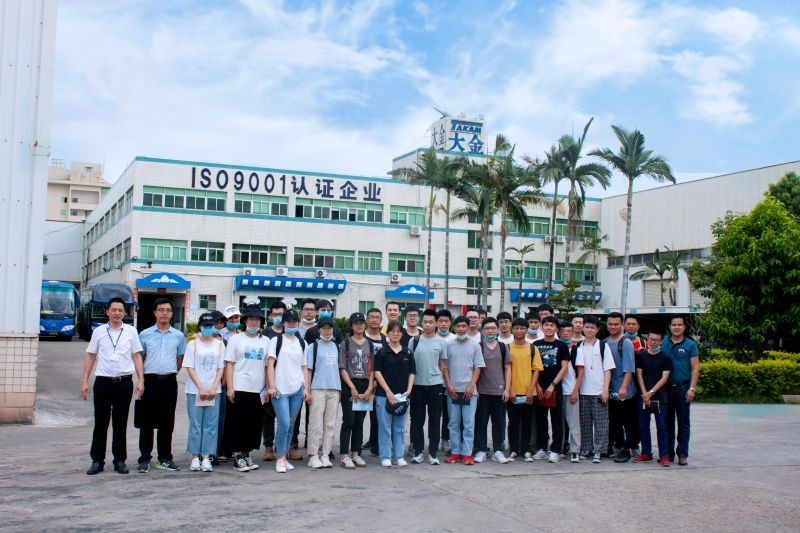 Students from Jimei University visit Takam Machinery