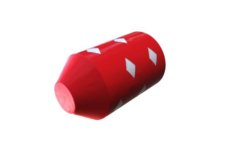 scarlet Criss Cross foam pig