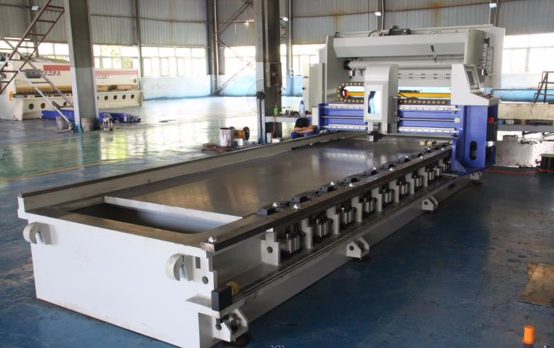 CNC V Groove Machine para acero inoxidable