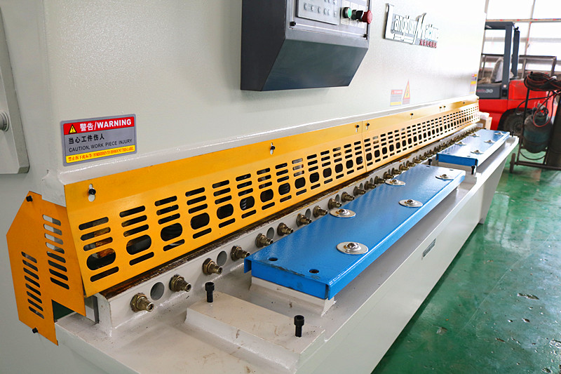 e21s control hydraulic swing beam plate shearing machine