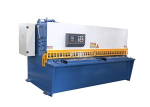 Máquina de corte CNC de placa de acero hidráulica