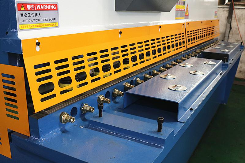 6*2500mm hydraulic shearing machine