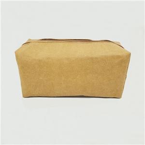حقيبة مستحضرات التجميل الورقية القابلة للغسل