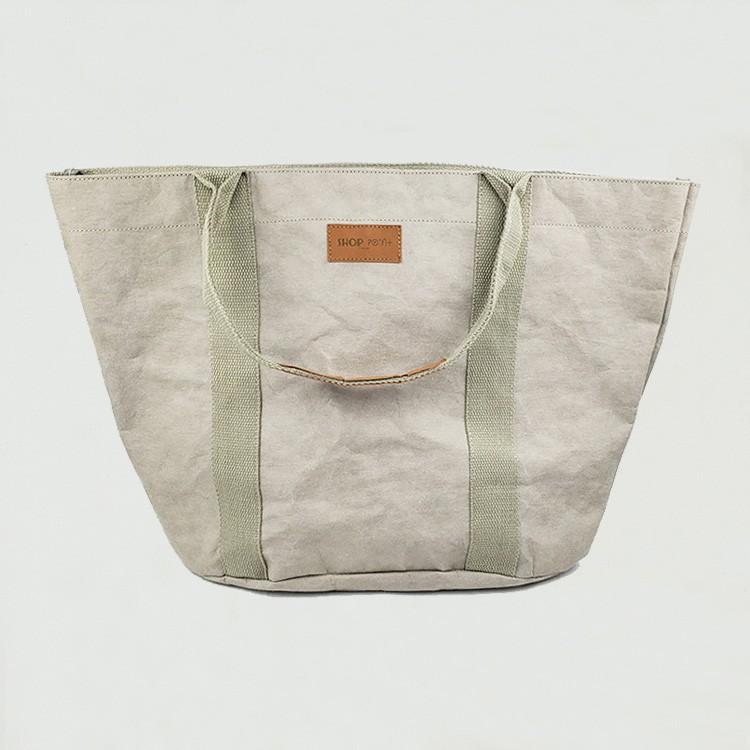 حقيبة أزياء ورقية قابلة للغسل