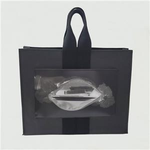 قابلة لإعادة الاستخدام ورقة حمل حقيبة مع نقلها طباعة