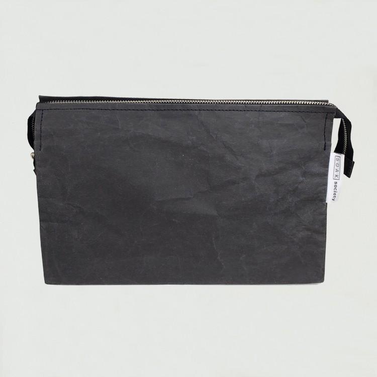 قابل للغسل كرافت ورقة منظم حقيبة مستحضرات التجميل السفر