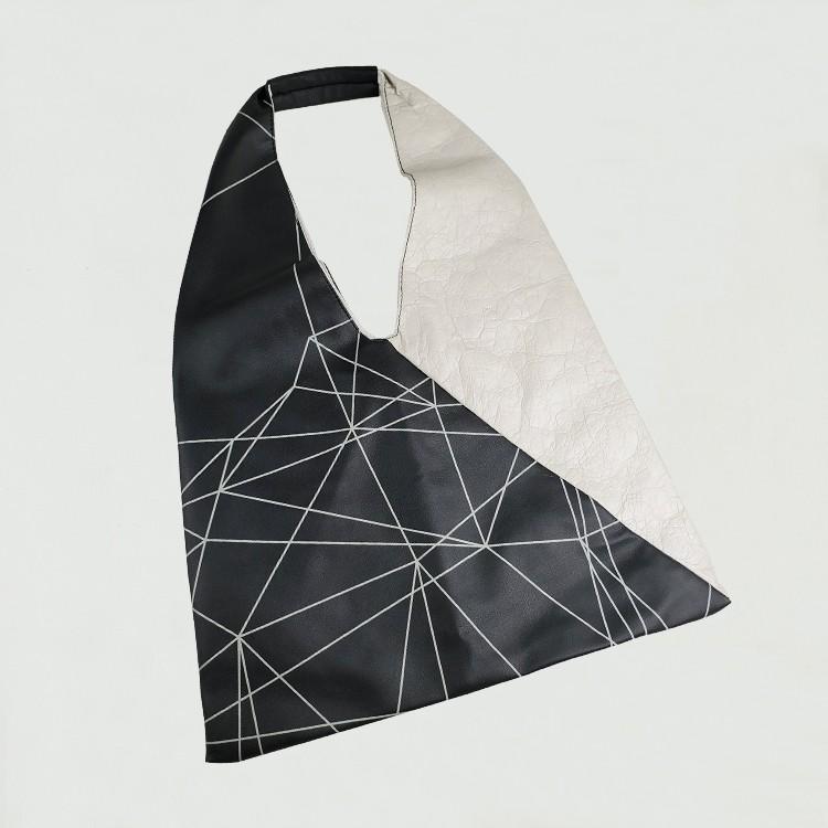 Tyvek ورقة قابل للغسل تحمل حقيبة كتف الموضة