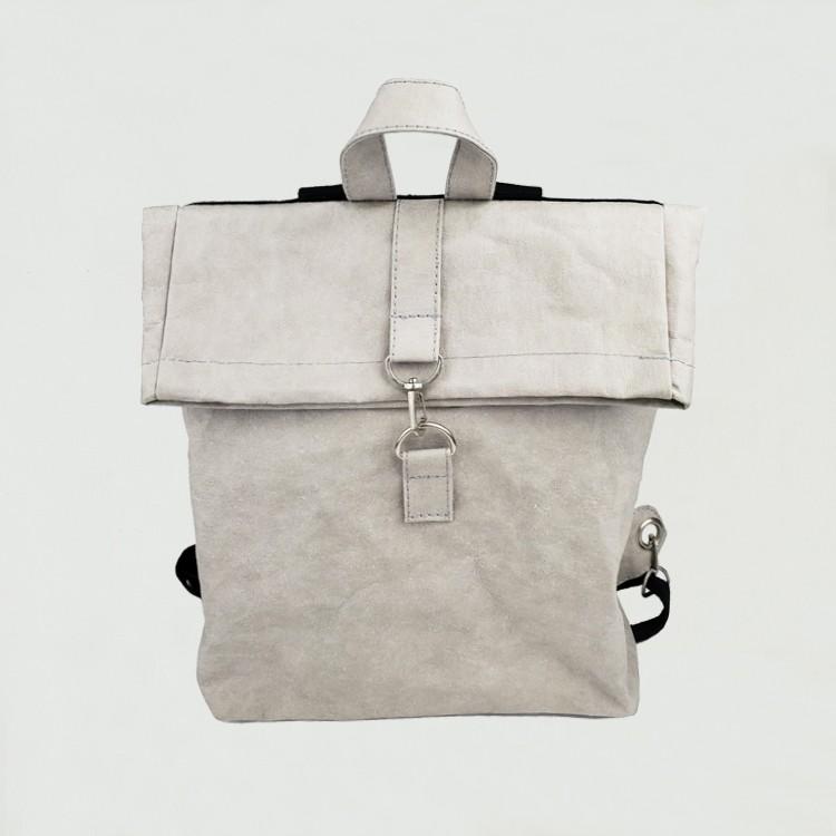 قابل للغسل ورق الكرافت حقيبة الكتف حقيبة الكتف