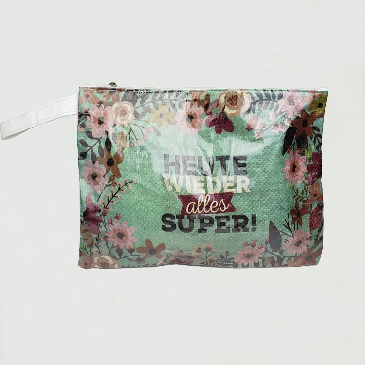 حقيبة مستحضرات التجميل النسيج المنسوجة خفيفة الوزن للماء