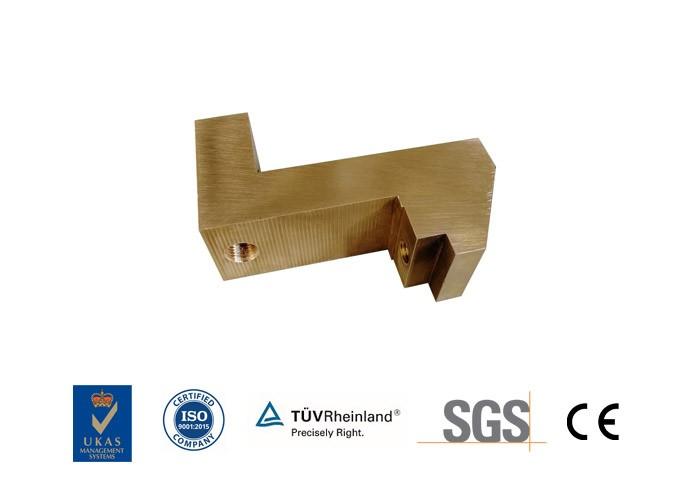 Precision CNC-bearbetade mässingskomponenter Inc