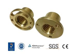 Small Threaded Brass Bushings